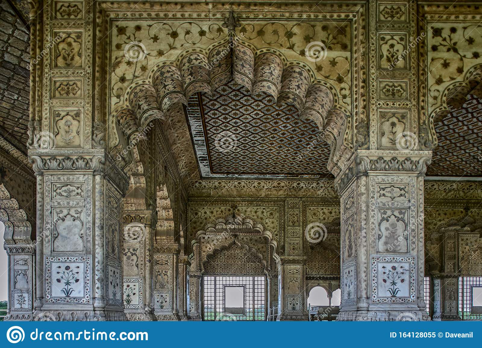 India - Delhi - 030 - Red Fort - Diwan-i-Khas | The white