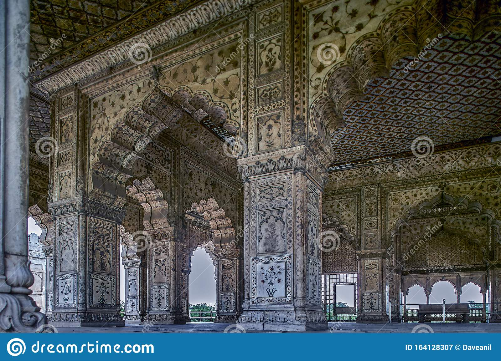 Hall Of Audience (Diwan-I-Khas), Red Fort, Old Delhi