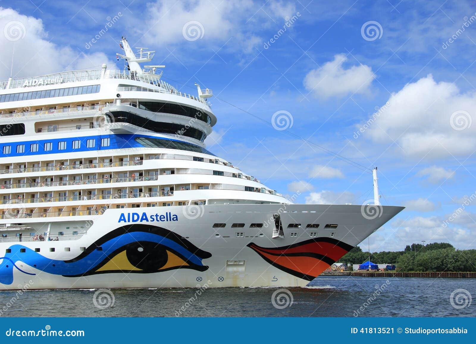 June 22nd, 2014. Velsen; the Netherlands: Aida Stella on North S
