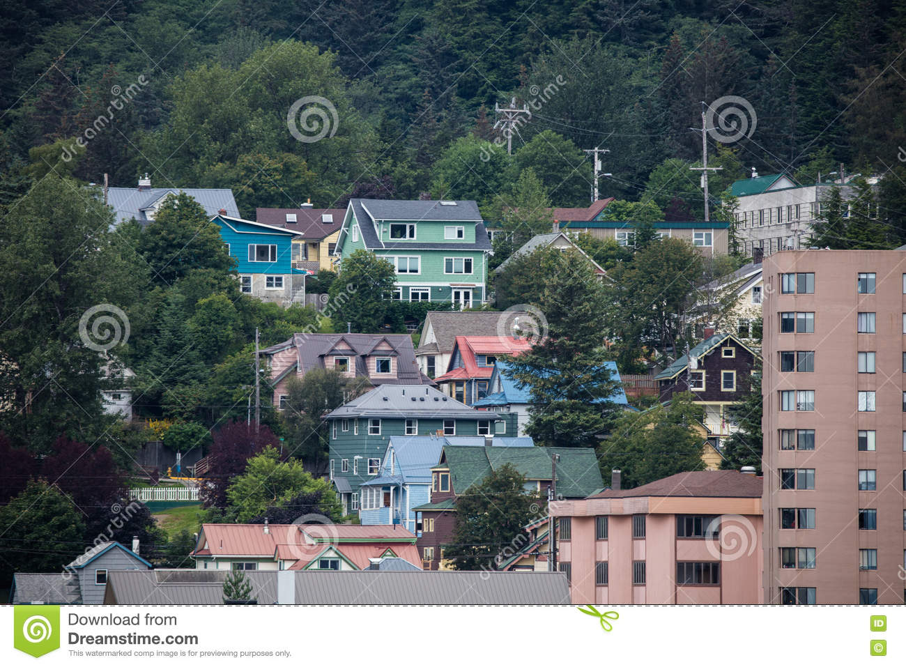 Juneau alaska editorial photography image 75214742 for Home builders alaska