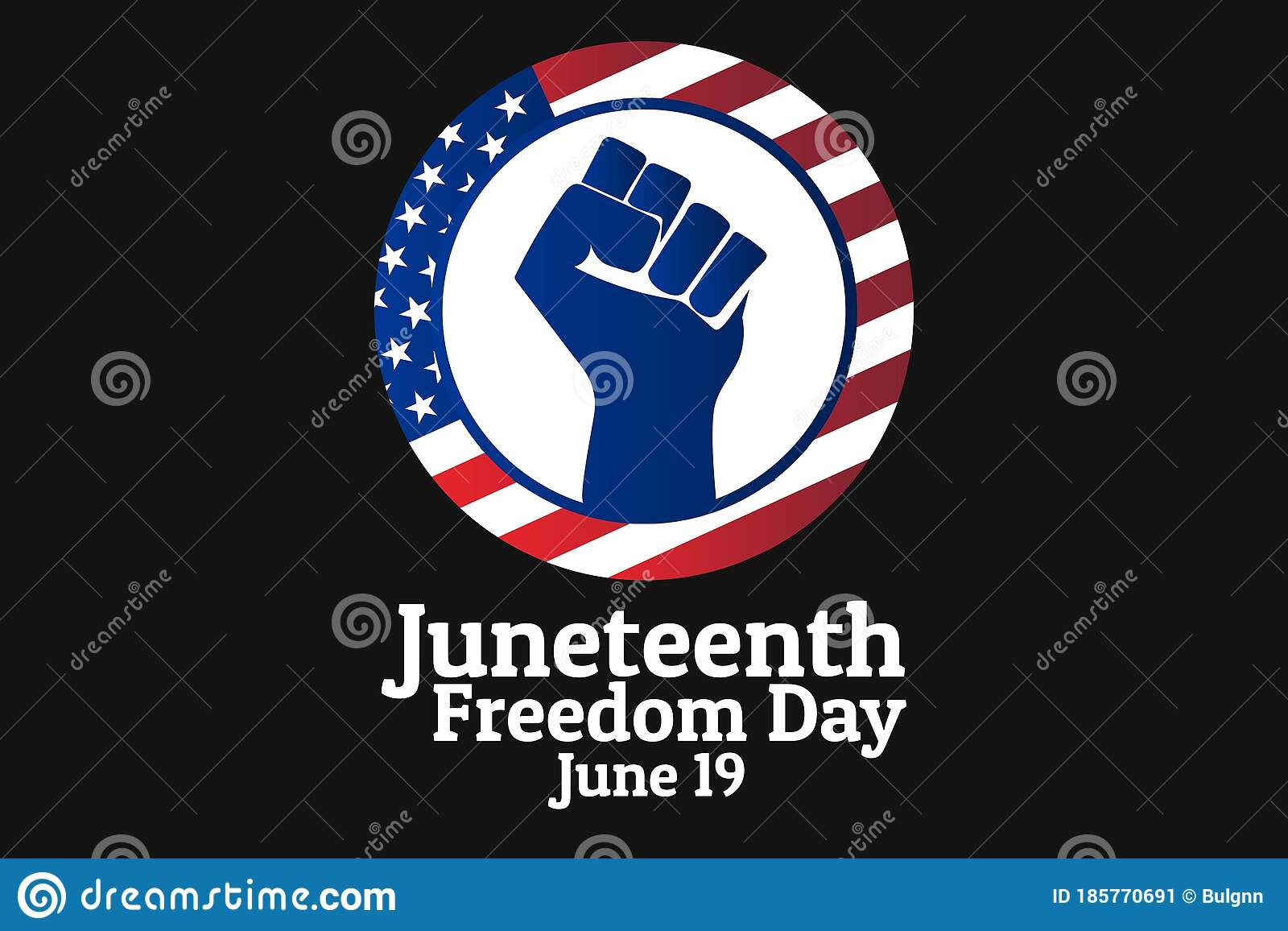 Juneteenth, Freedom Day. June 19. Holiday Concept ...
