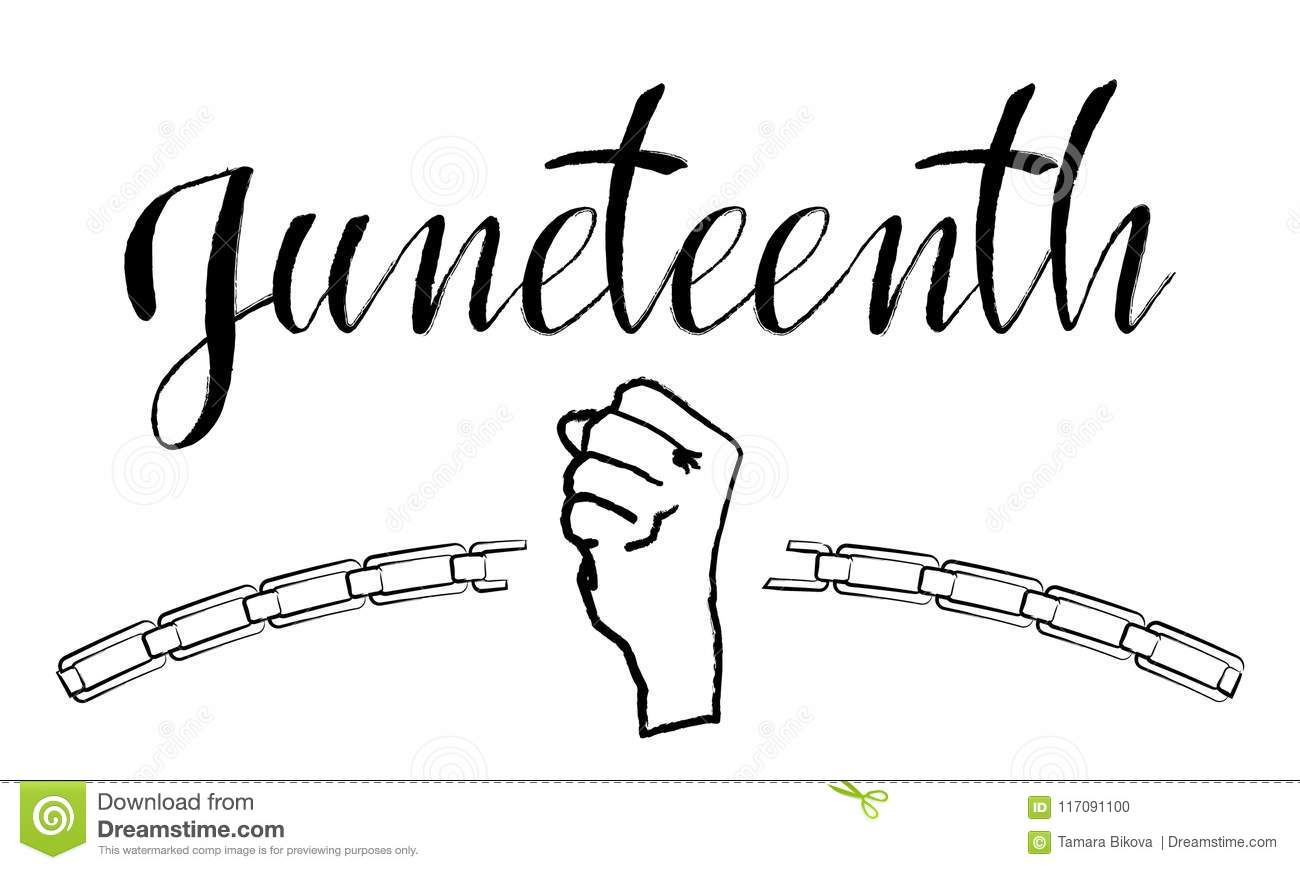 Download Juneteenth Independence Day Stock Vector