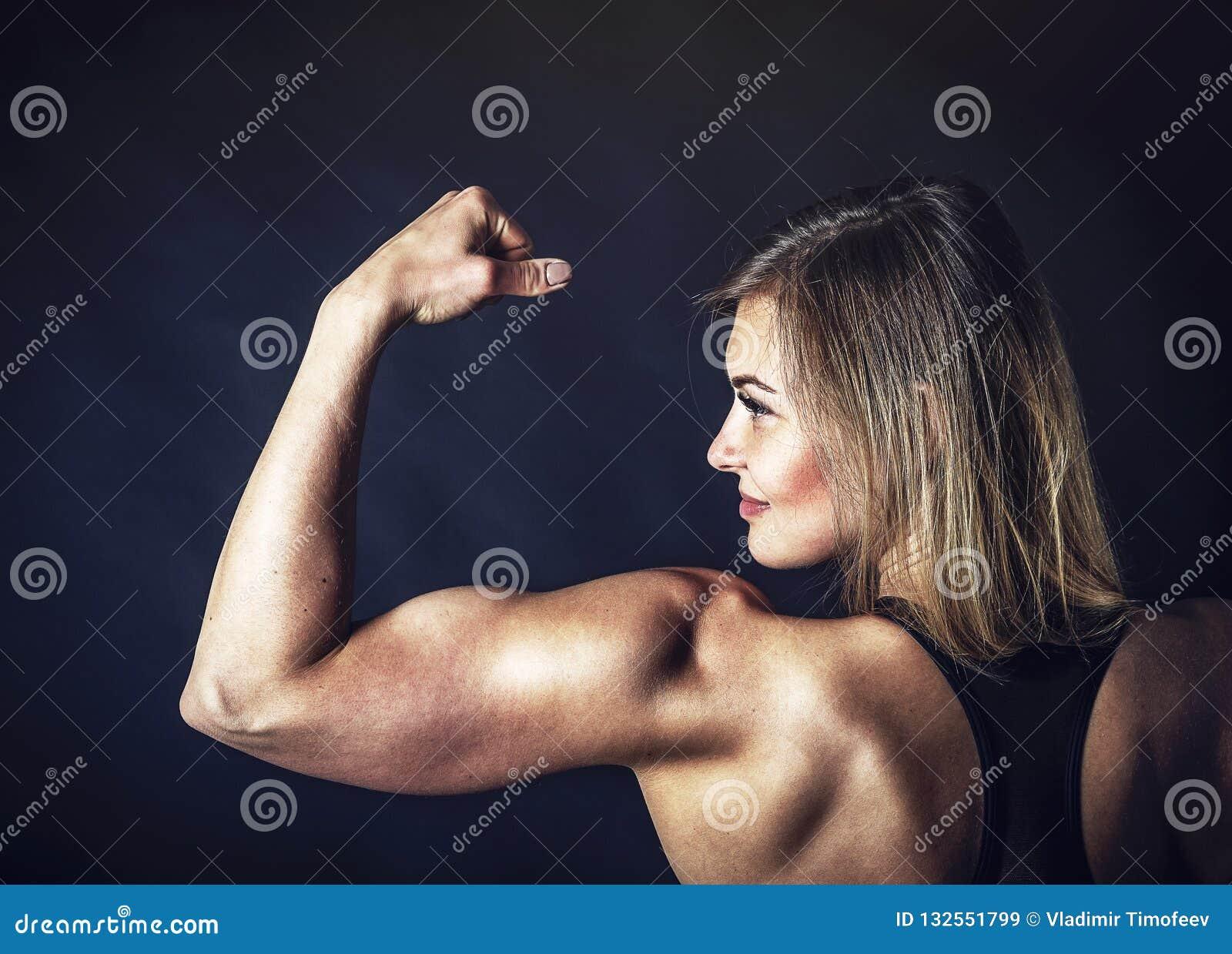 Weißes Mädchen Perfekter Körper