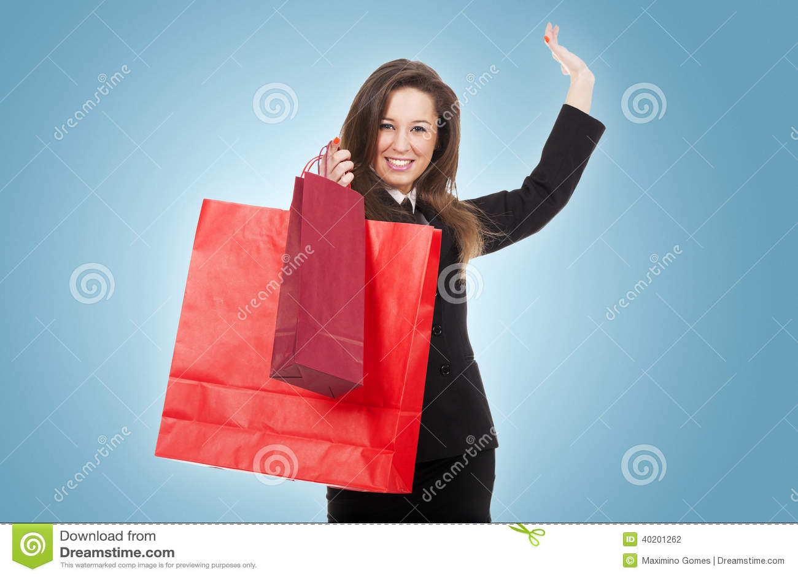 Junge Frau im Shop