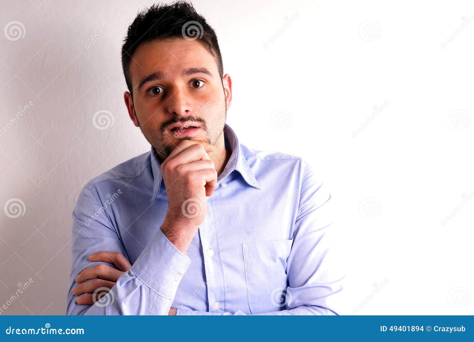 Download Junge mit Hemd stockfoto. Bild von frontseite, hemd, junge - 49401894