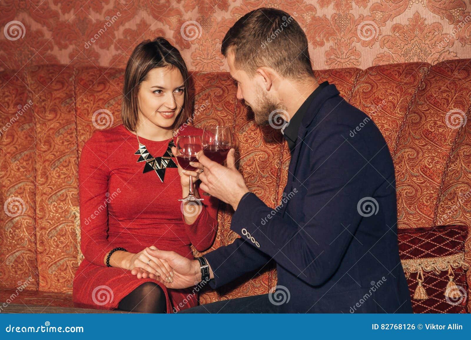 Mit einem mädchen flirten