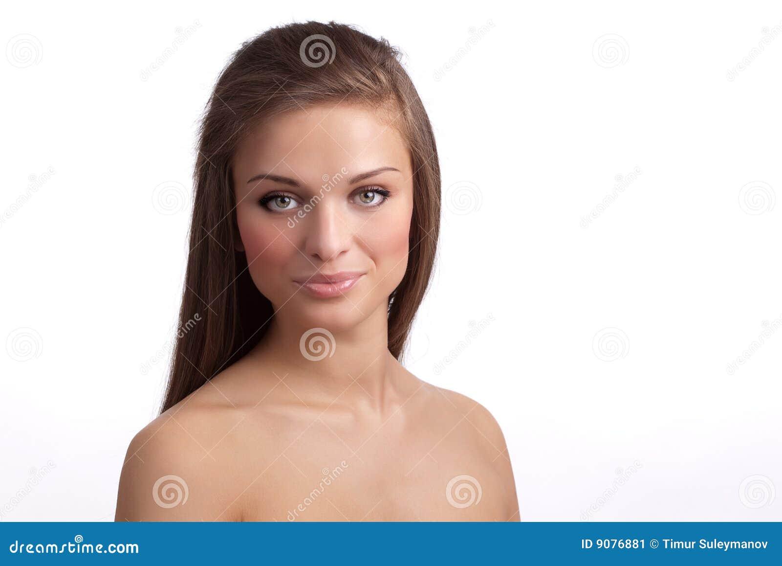 Junge schöne Frau