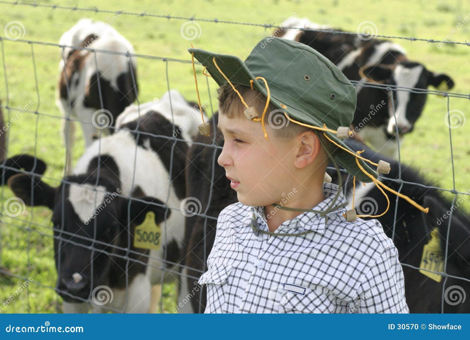 Download Junger Landwirt stockfoto. Bild von landwirt, üppig, kalzium - 30570