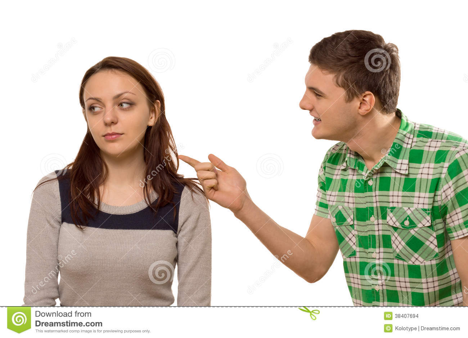 Mann flirtet mit bester freundin