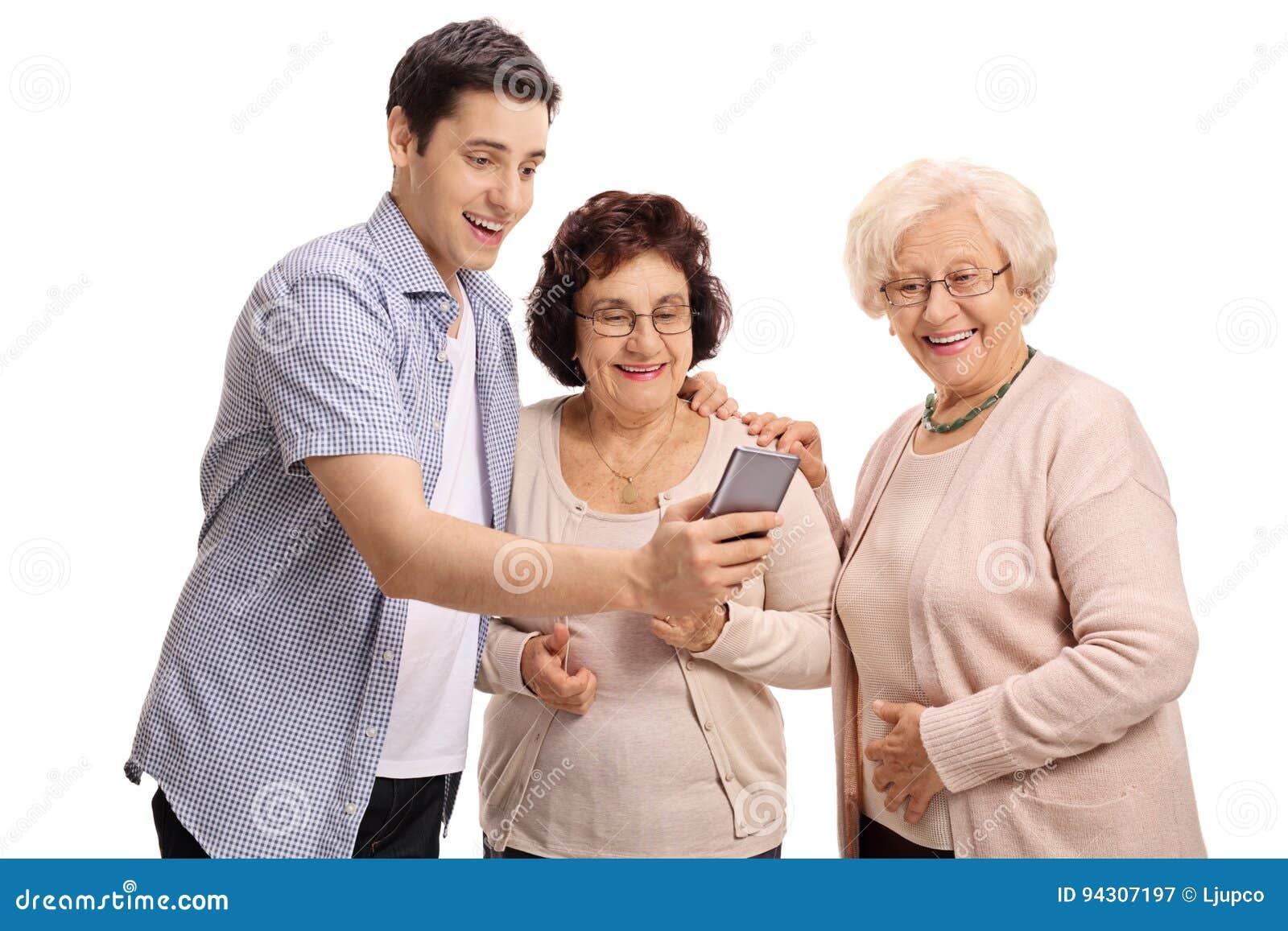 Ältere Frauen Jüngere Männer