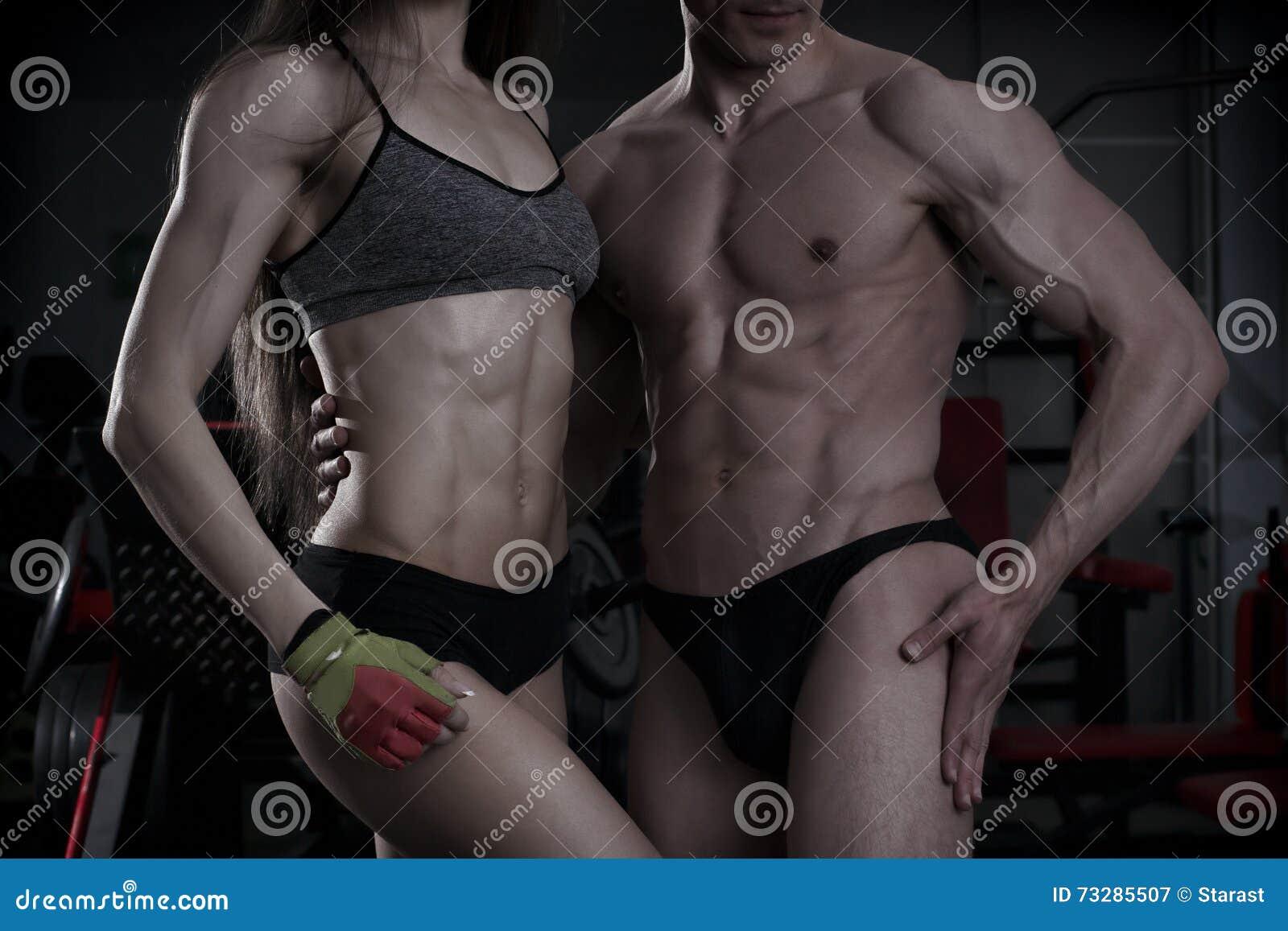 muskulöser körper