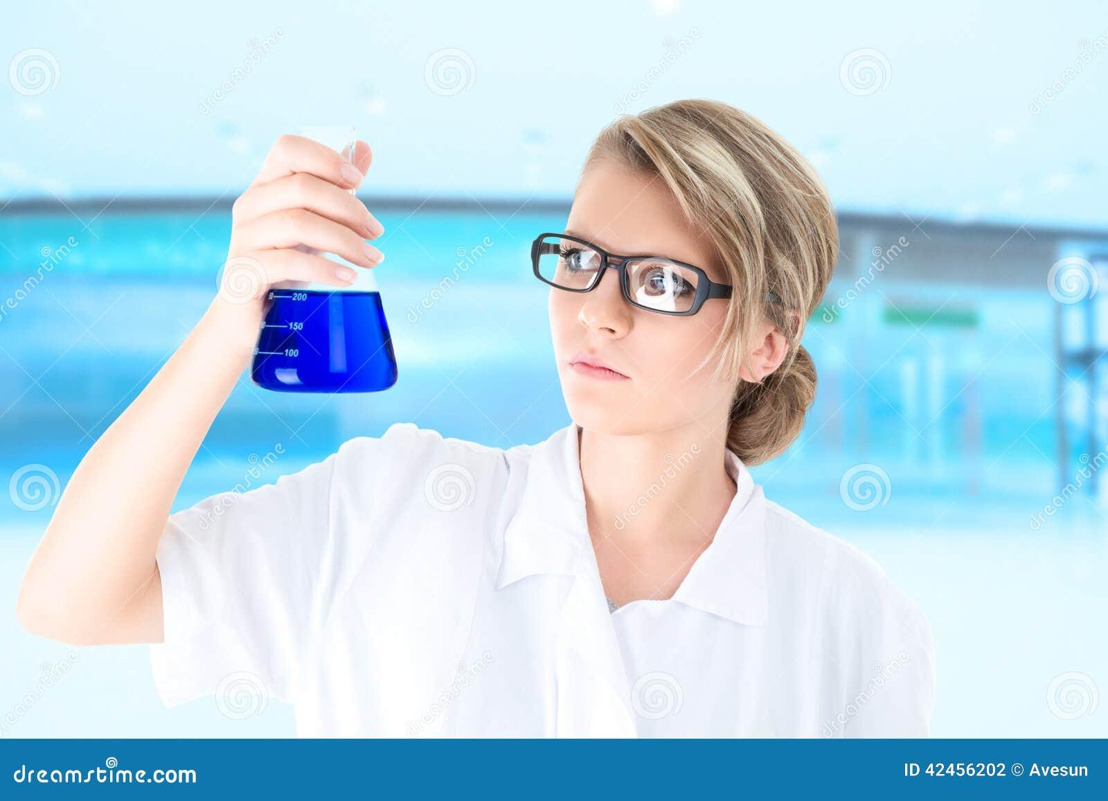 Junger Wissenschaftler