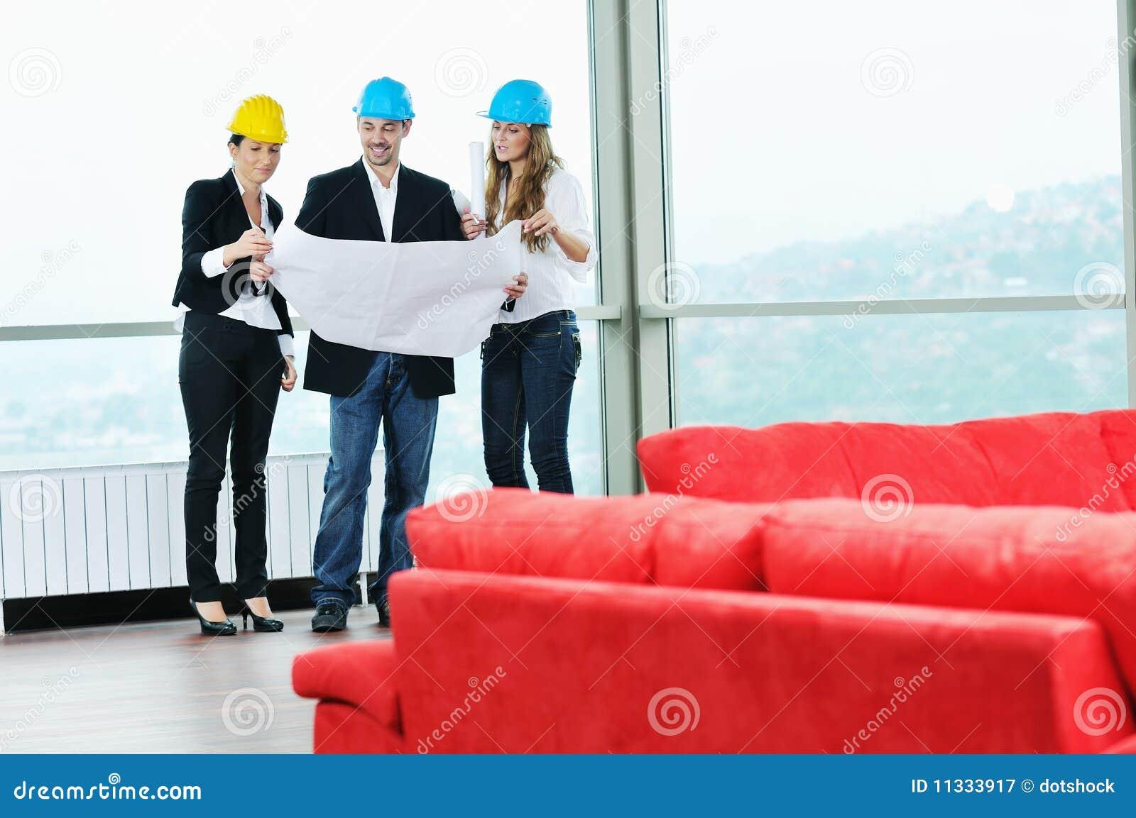 Junges Architektenteam