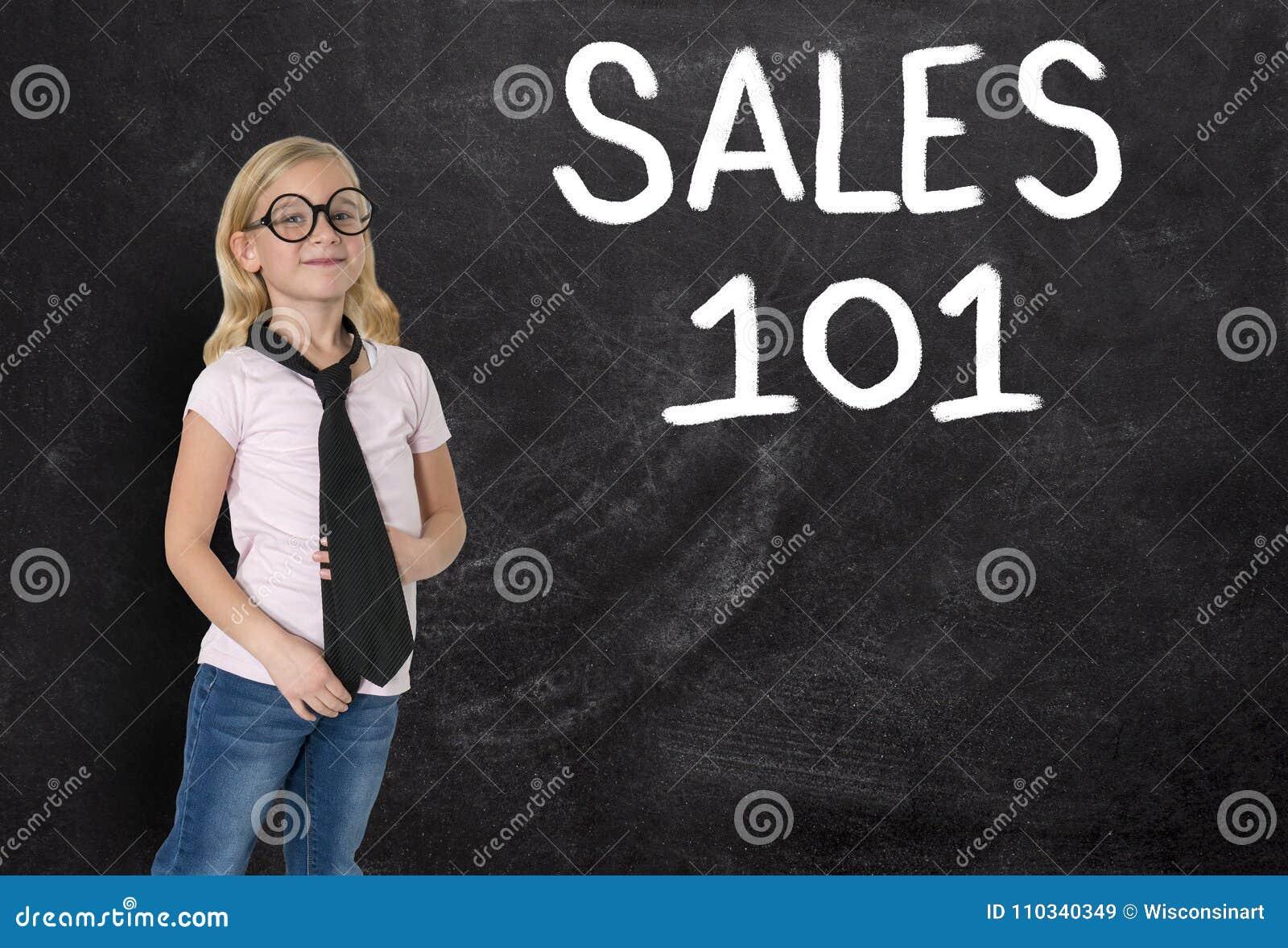 Junges Mädchen, Geschäftsfrau, Verkäufe, Geschäft, Marketing