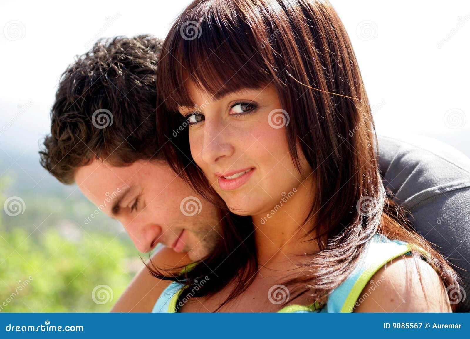 Junges Paarportrait