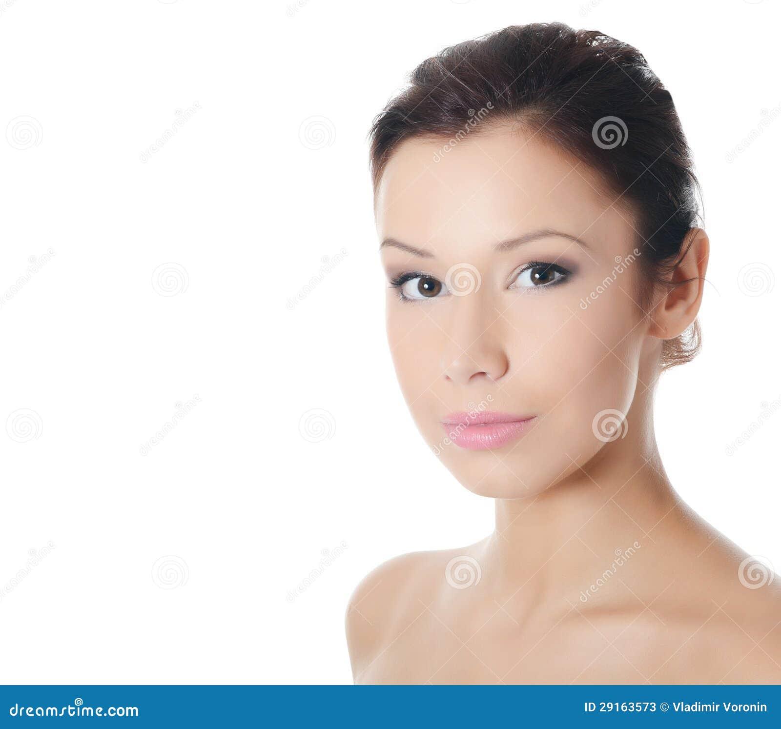 Junges schönes Mädchen mit Make-up