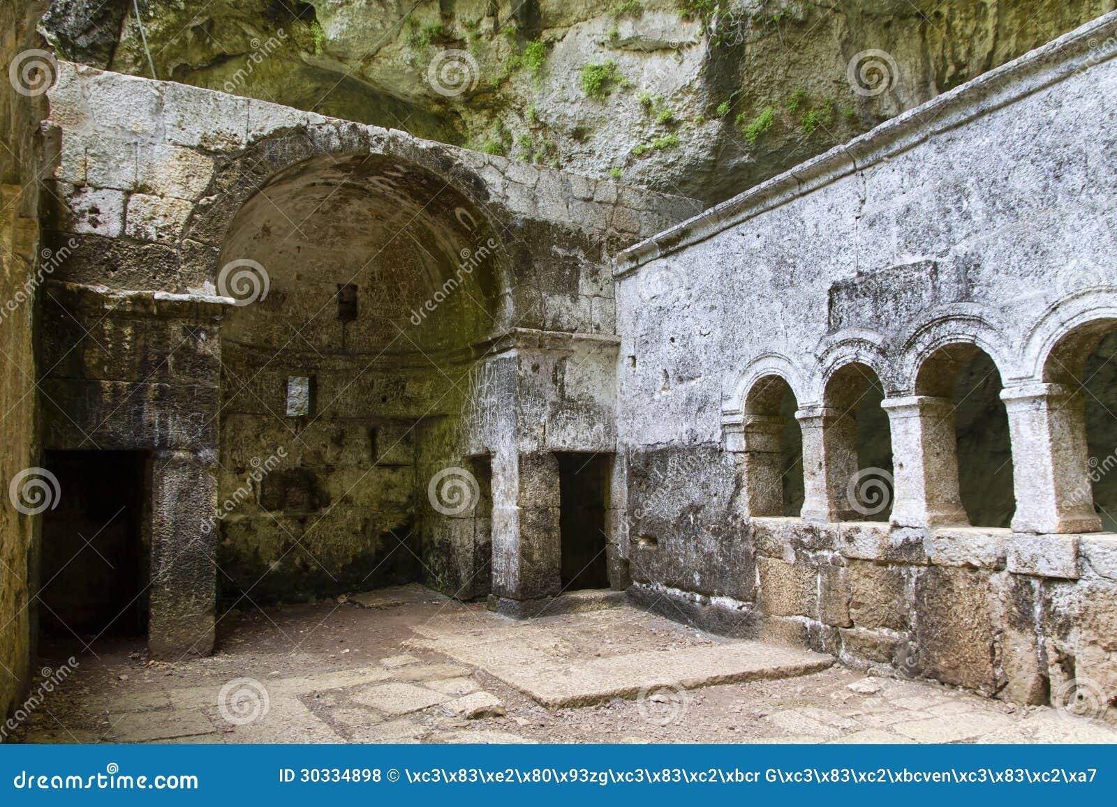 Jungfrau Mary Monastery, Dreckloch des Himmels, Mersin, die Türkei