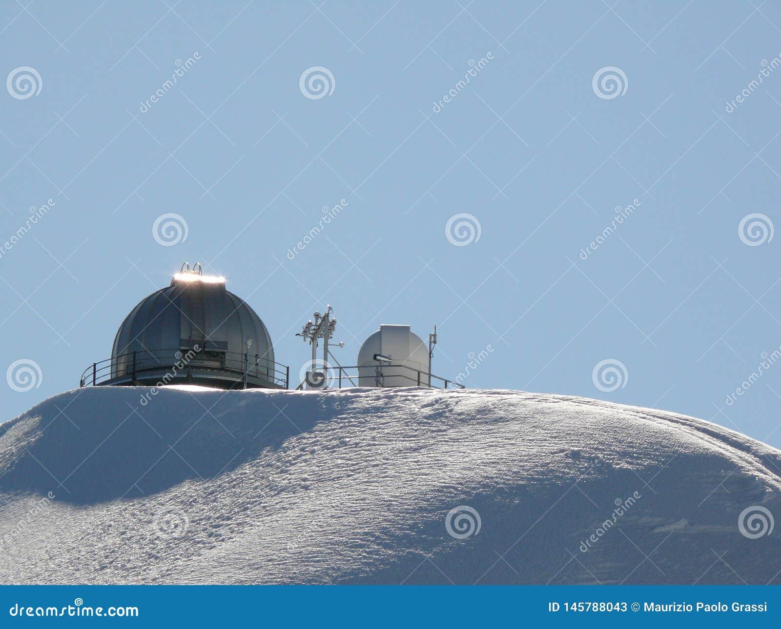 Jungfrau Switzerland 08/06/2009 Sfinksa astronomiczny observato