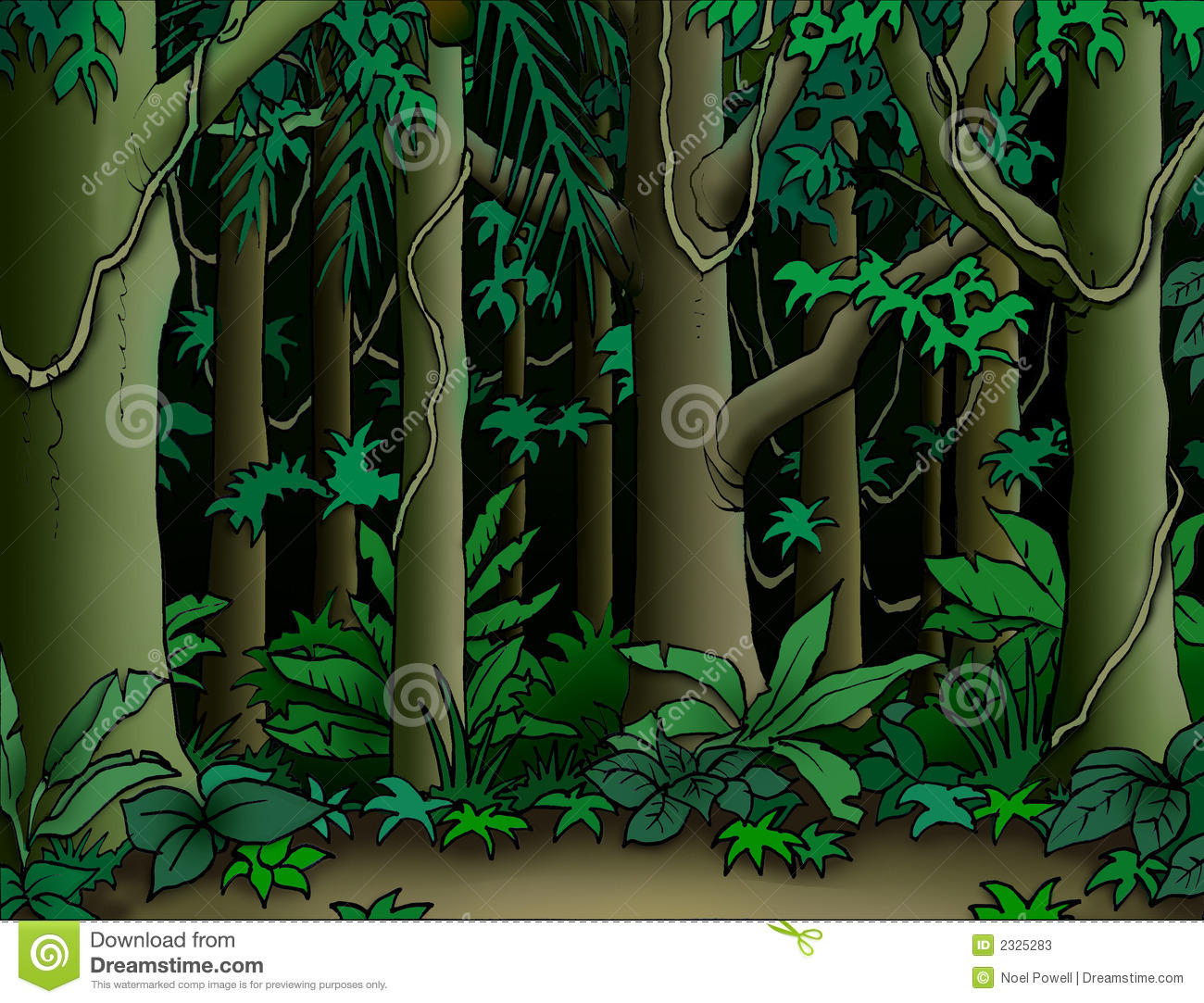 Jungle Background Stock Photos - Image: 2325283