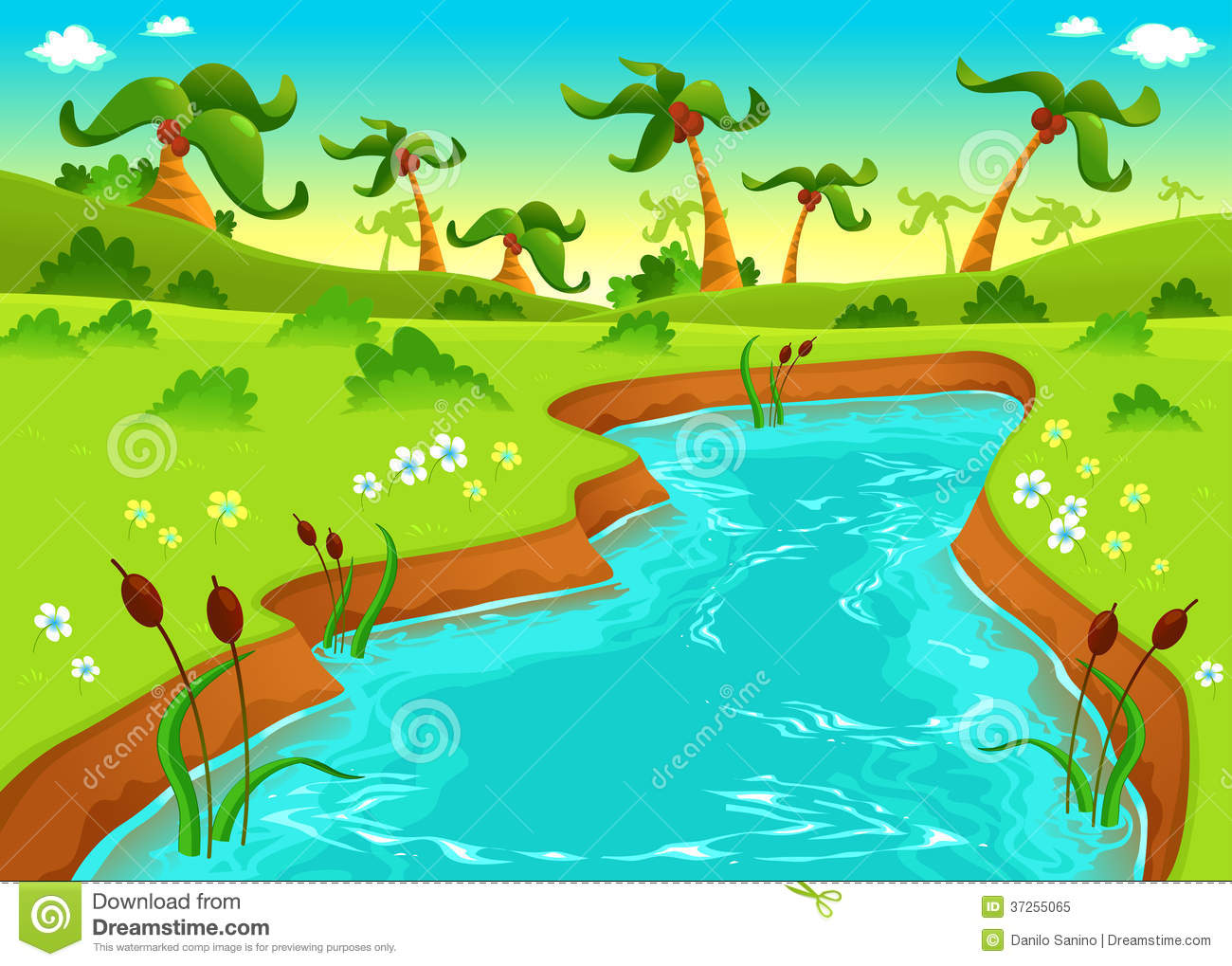 free clipart fish pond - photo #43