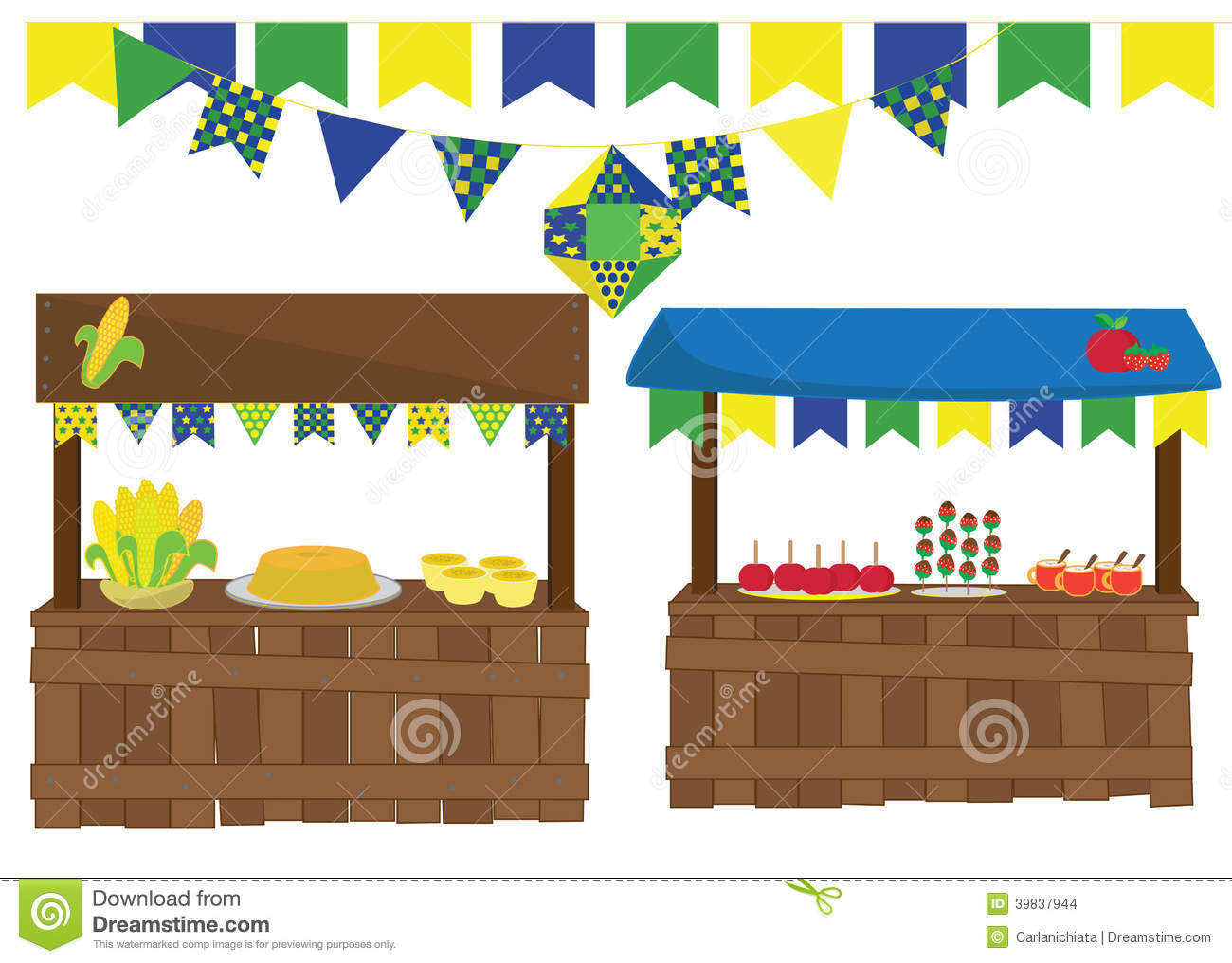 Junina Feast Stock Vector Illustration Of Country Curau 39837944