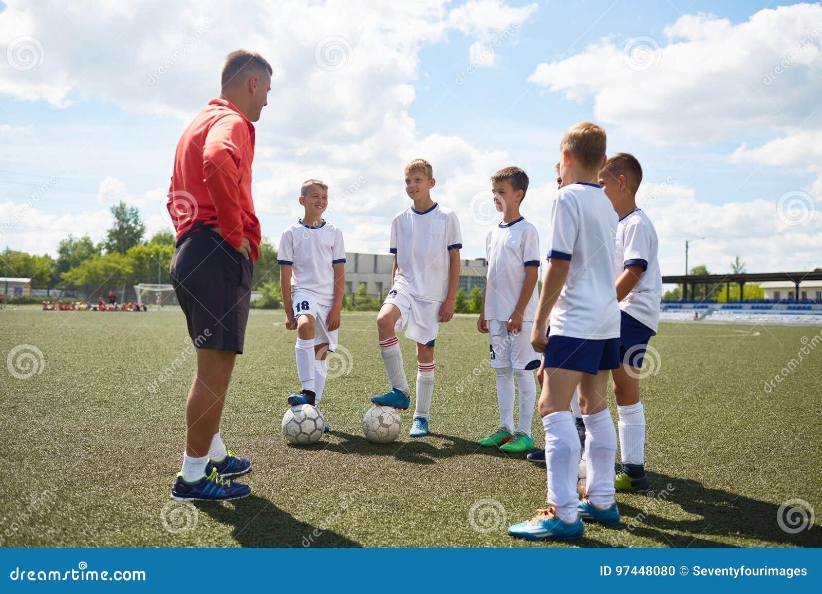 Junior Football Team Listening da preparare
