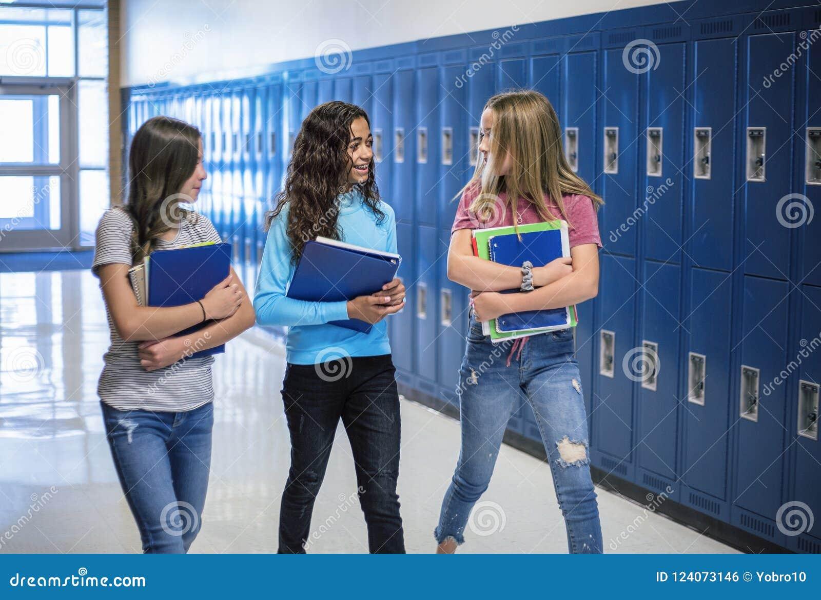 junior high girls candid