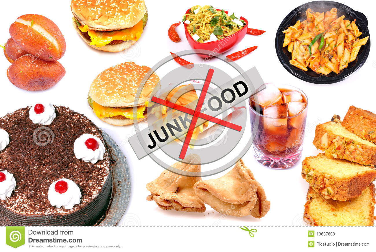 Junk Food Royalty Free Stock Photos - Image: 19637608