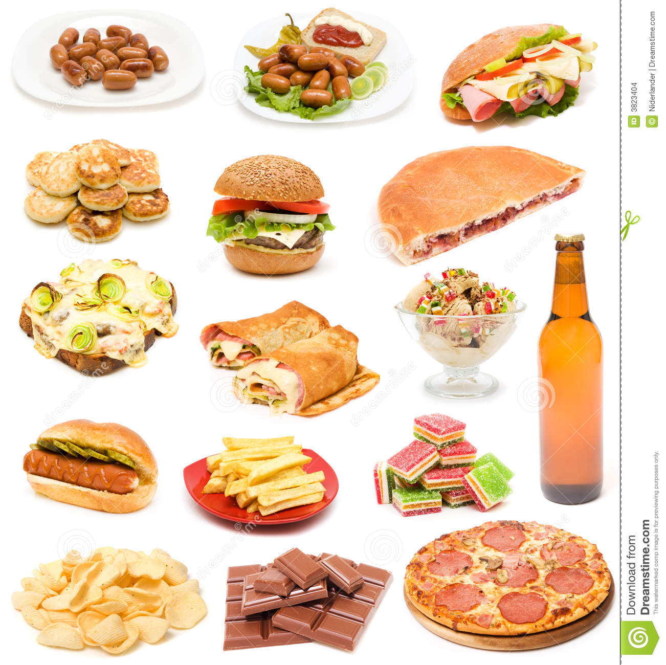 List Of Junk Food A Z