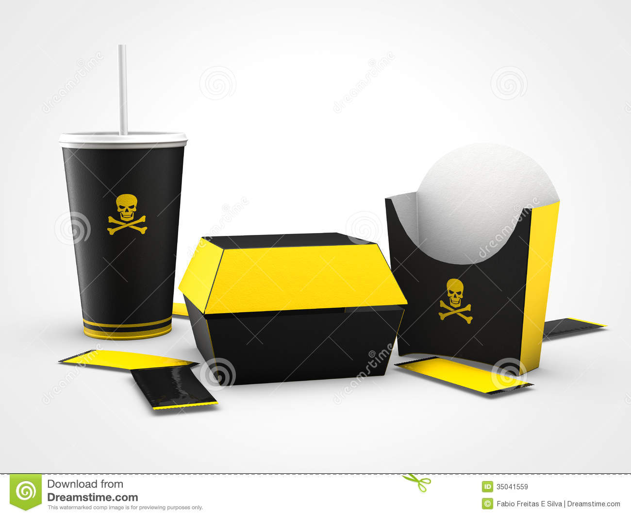 Junk Food Bad For Health Royalty Free Stock Images Image