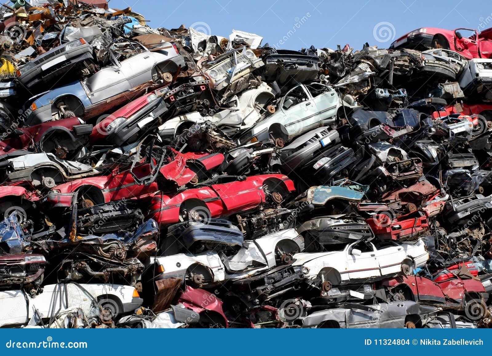 Junkyard de véhicules
