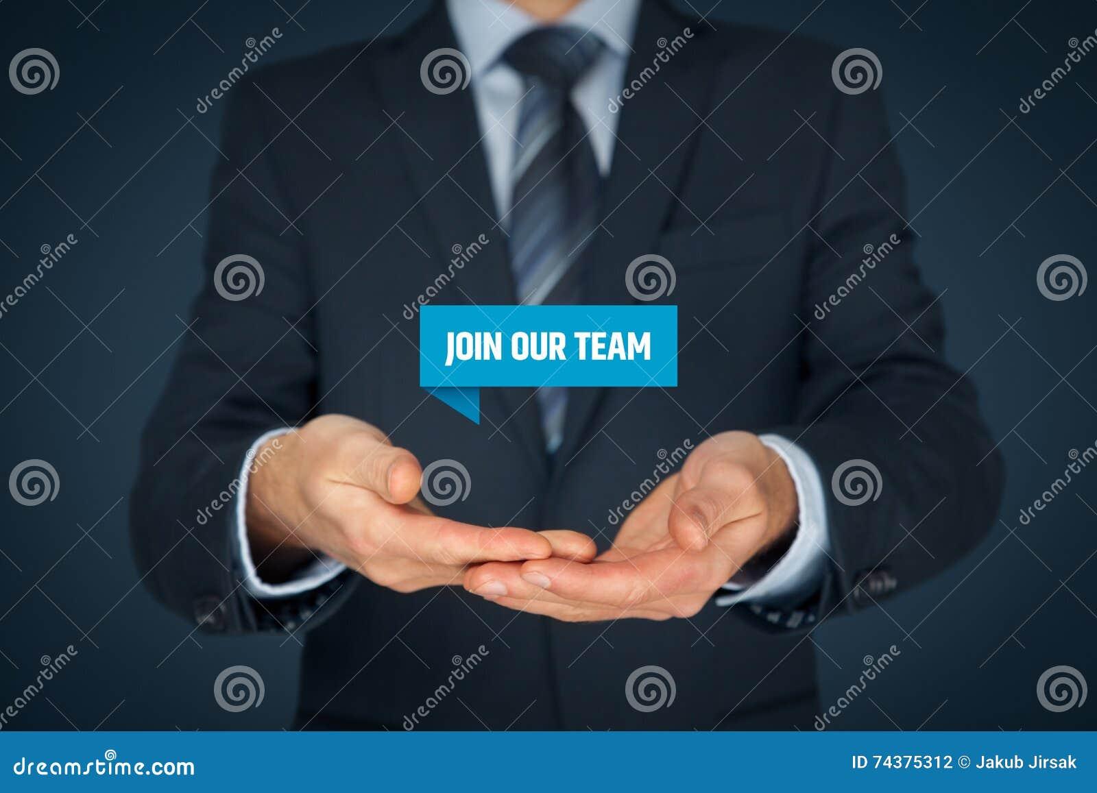 Junte-se a nossa equipe