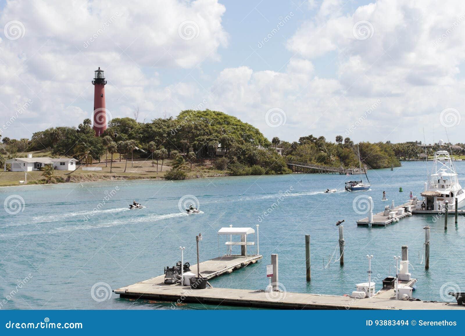 Jupiter Florida Inlet