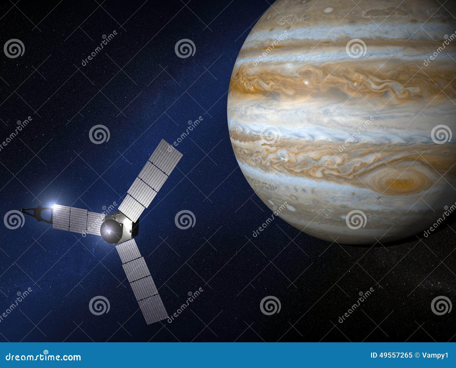 Jupiter- und Juno-Raumsonde