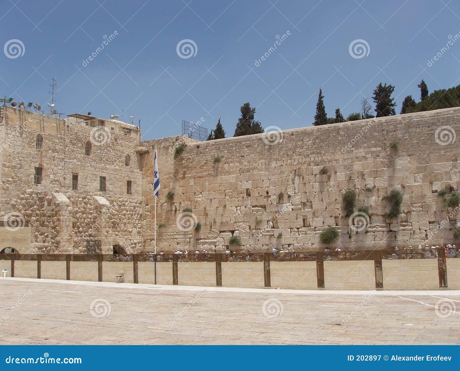 Jurasalem zachodniej ścianie