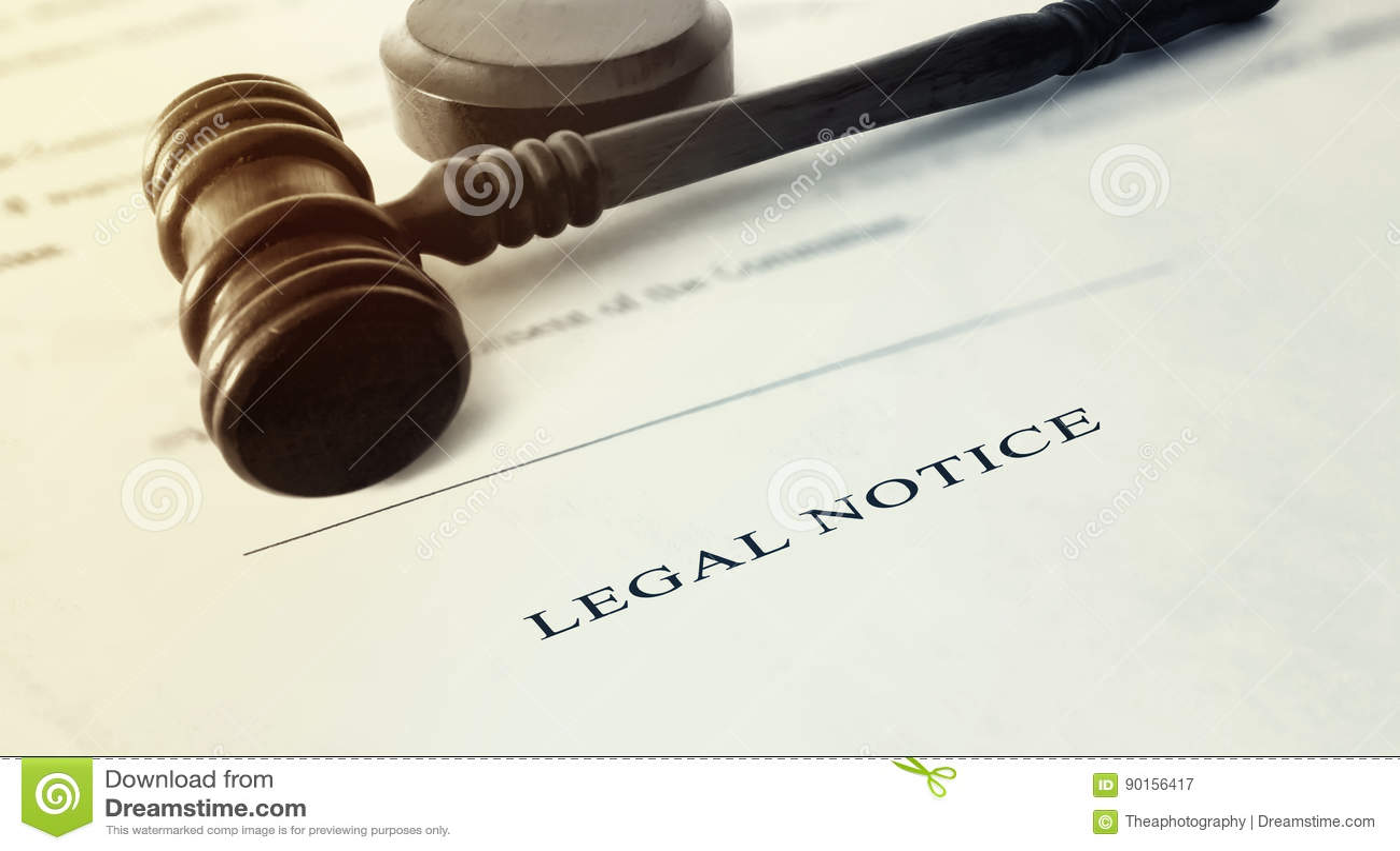 Juridische kennisgeving