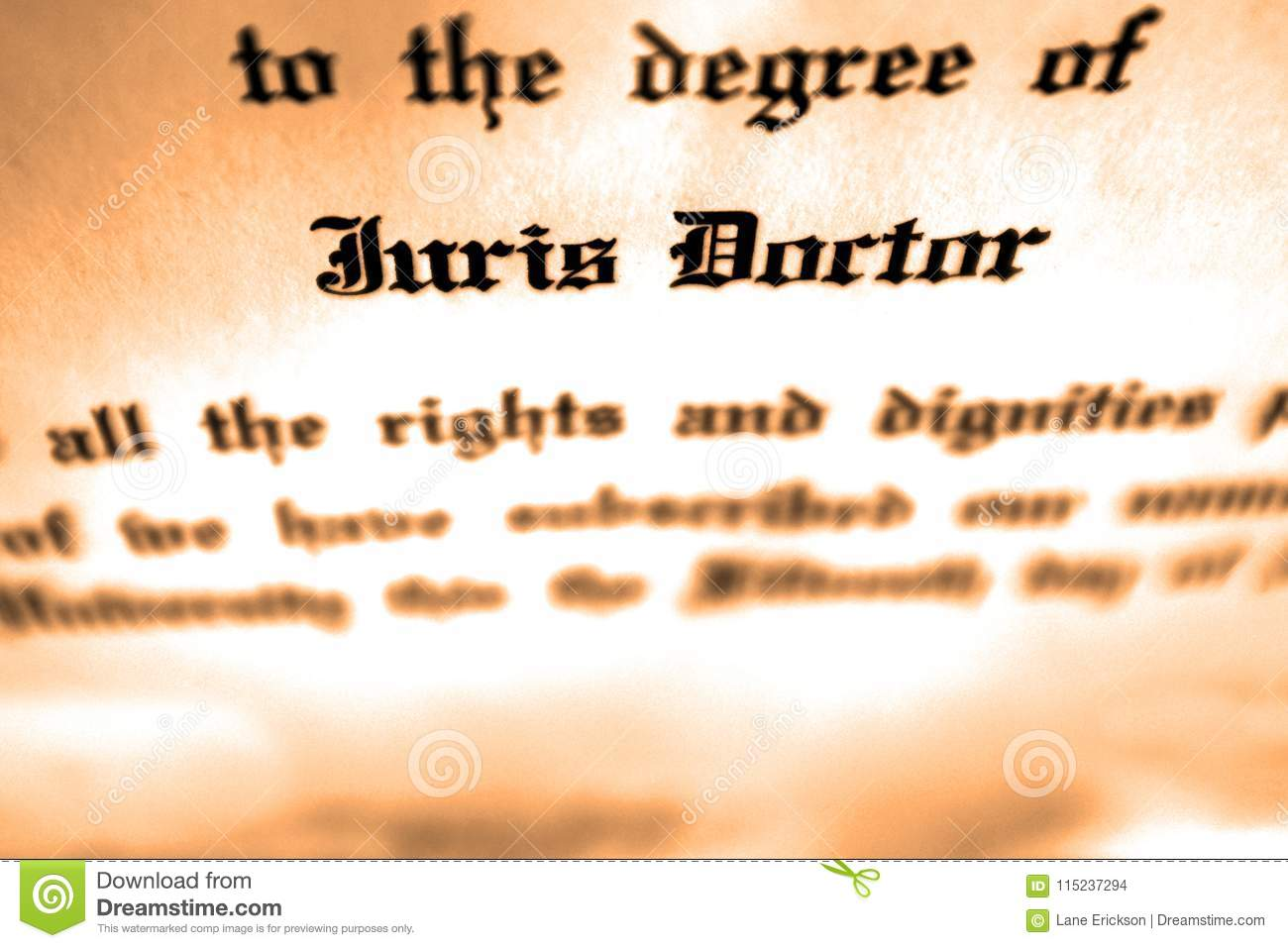 Juris Doctor Doctorate Degree Lawyer Attorney