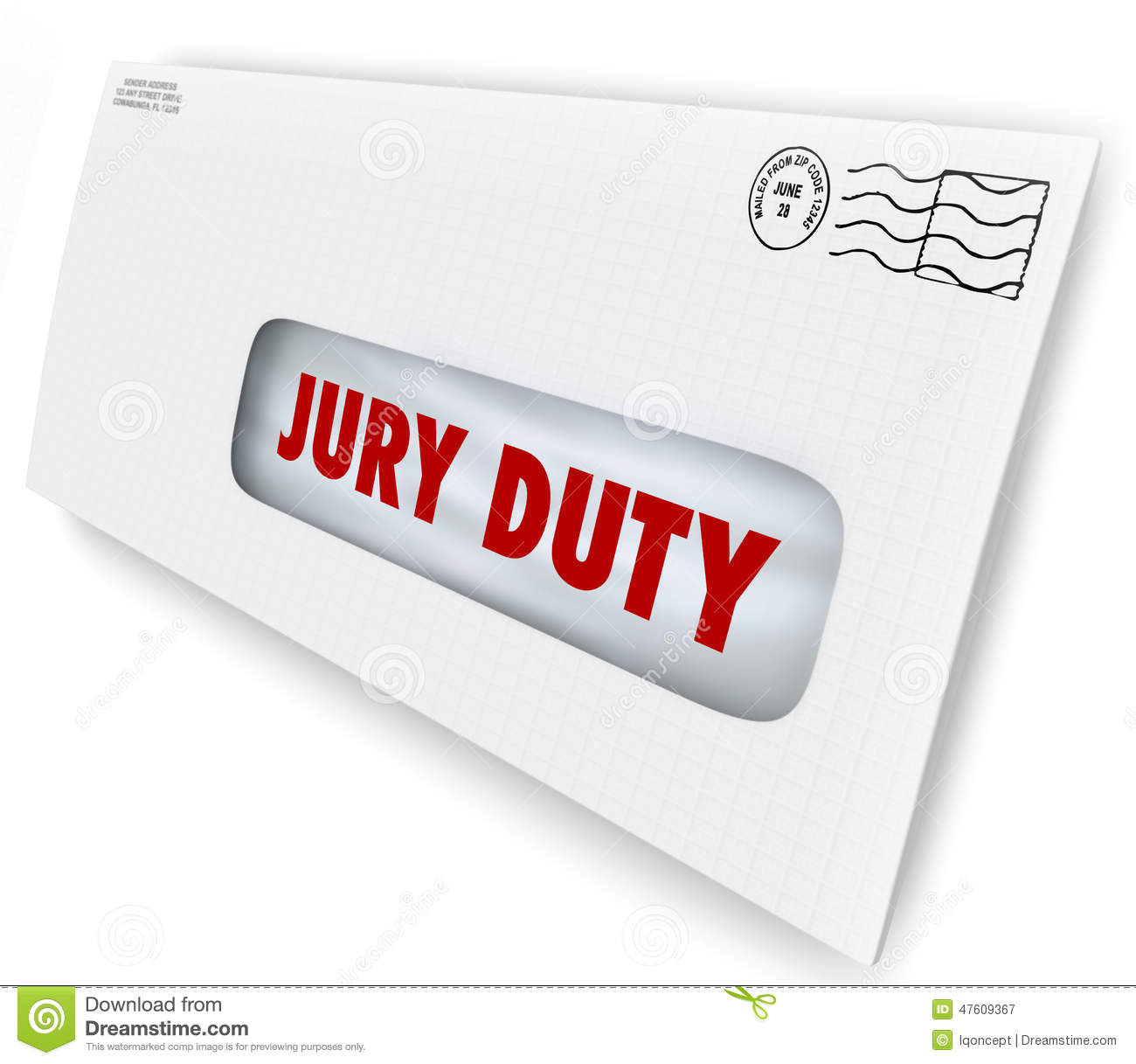 Travel Time For Jury Duty