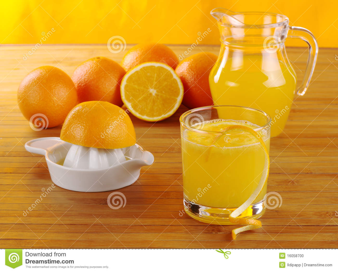 jus d 39 orange frais photo stock image 16058700. Black Bedroom Furniture Sets. Home Design Ideas