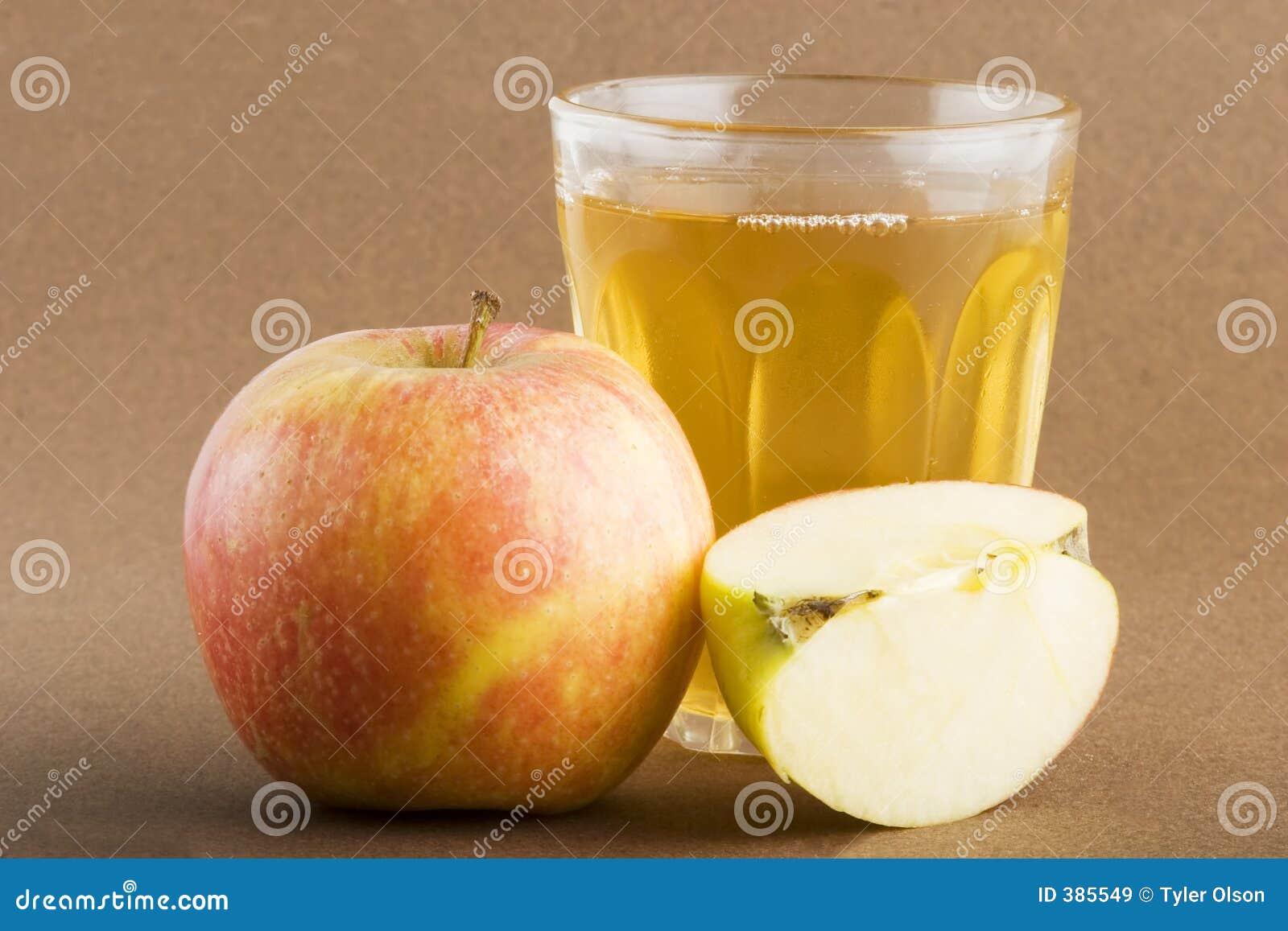 Jus de pomme frais