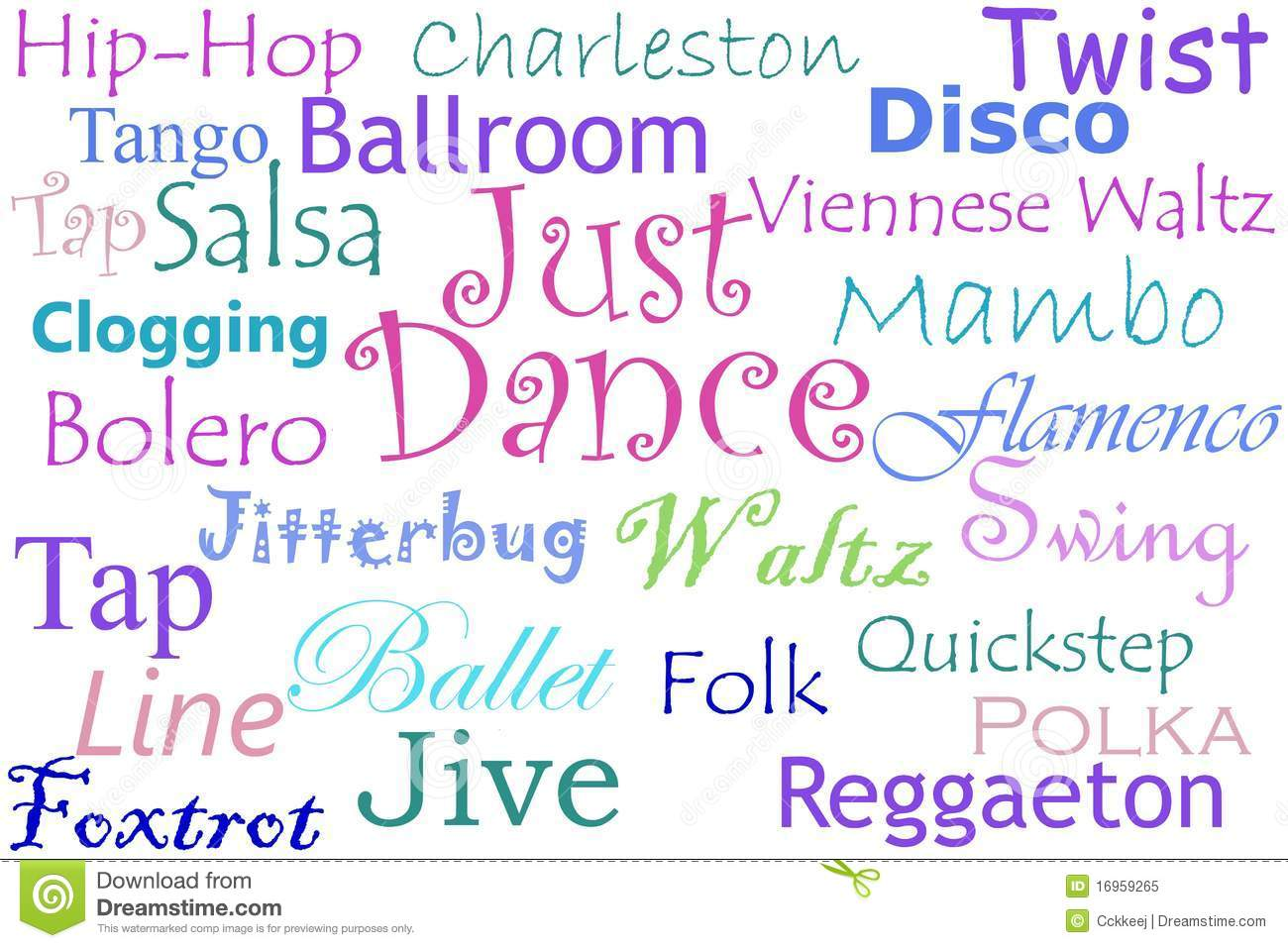 just dance collage royalty free stock photo