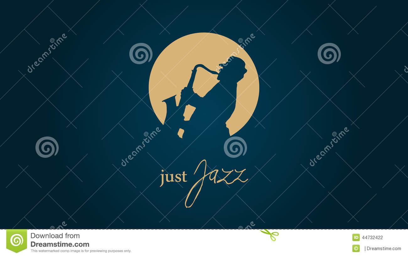 Just jazz stock vector illustration of saxman illustration 44732422 just jazz royalty free vector voltagebd Image collections