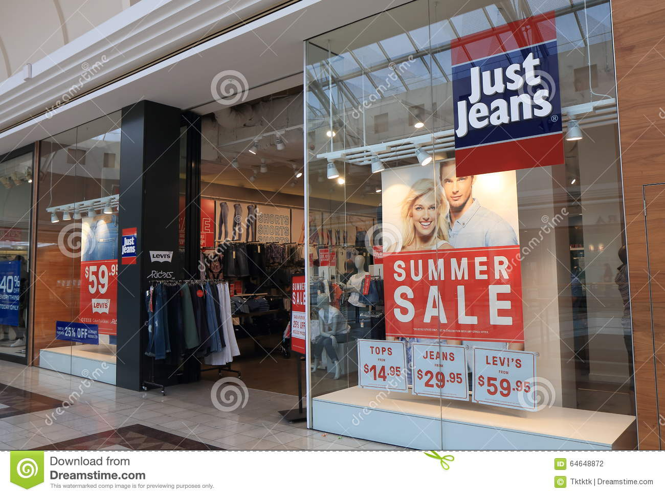 Just clothing store