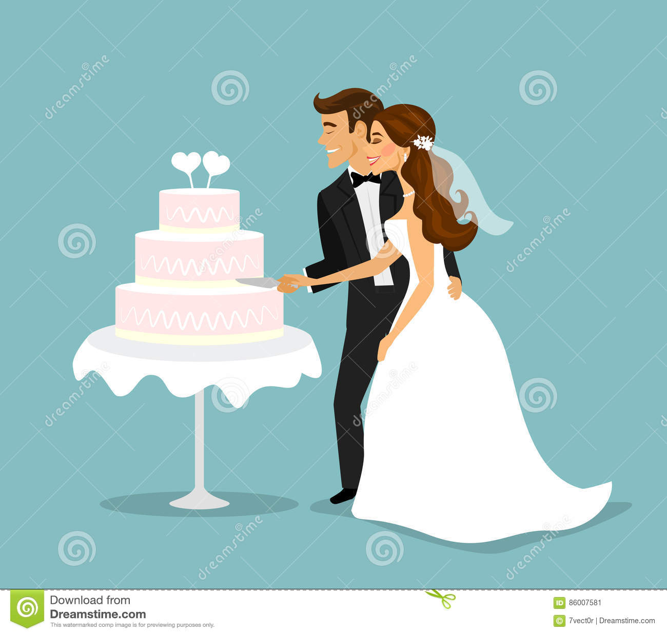 wedding cake couple wedding cutting cake royalty free stock image 22260