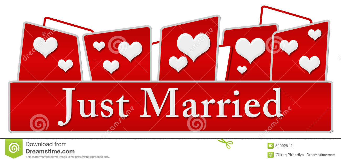 Just married hearts on top stock illustration illustration of just married hearts on top biocorpaavc