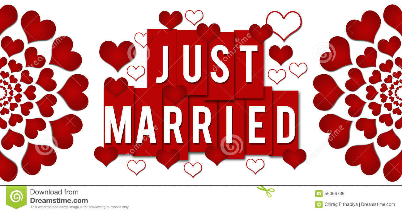 Texting hearts symbols image collections symbol and sign ideas just married red hearts stripes horizontal stock illustration just married red hearts stripes horizontal buycottarizona biocorpaavc