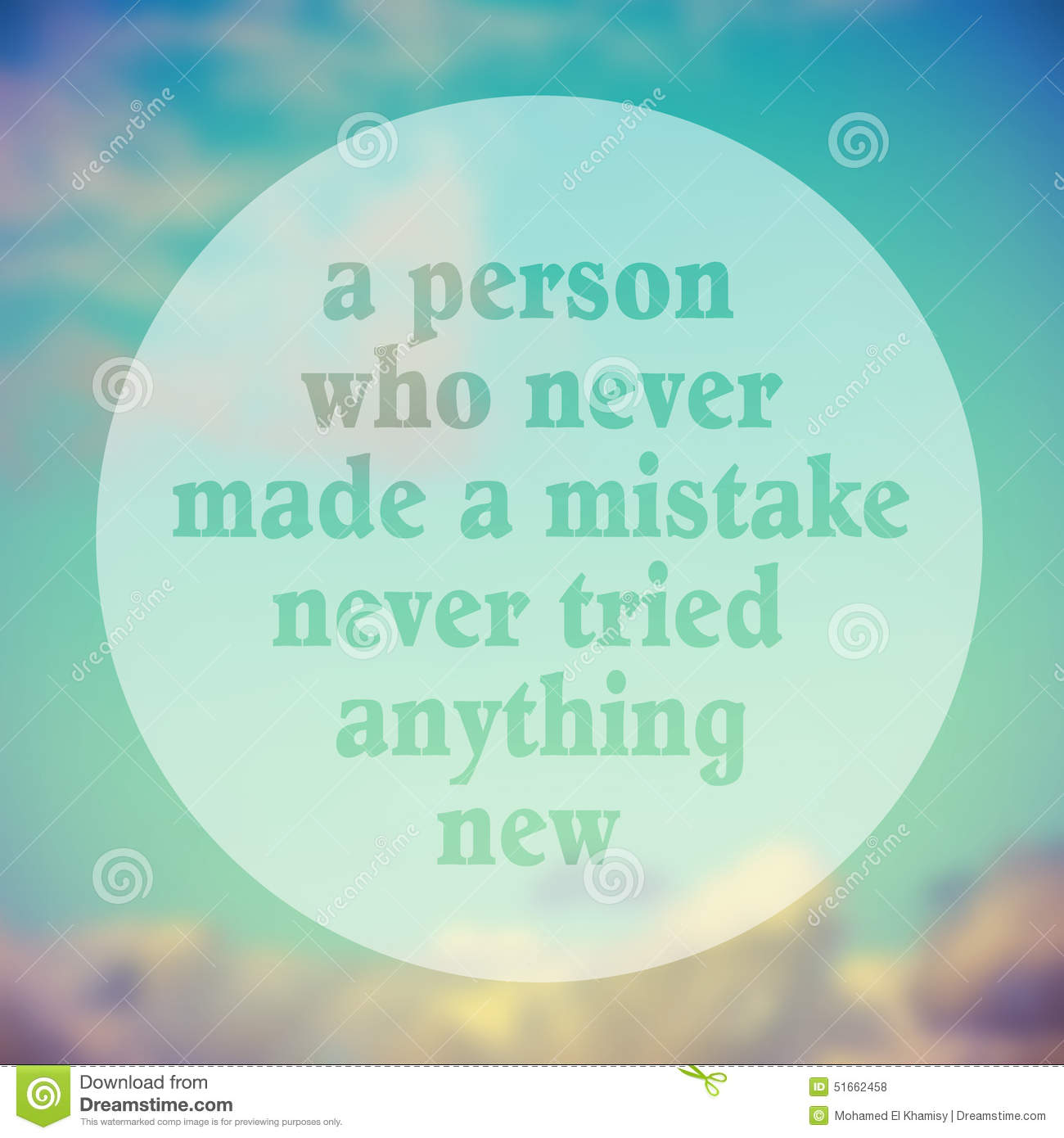 Just Try Something New Quote Typographical Poster By Albert Eins
