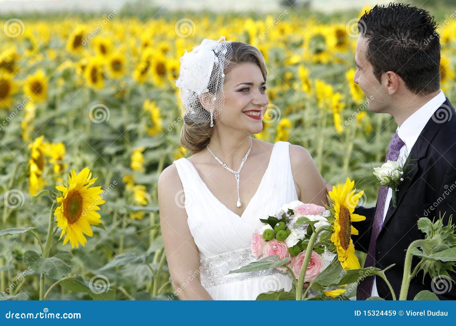 Juste ménages mariés dans la nature