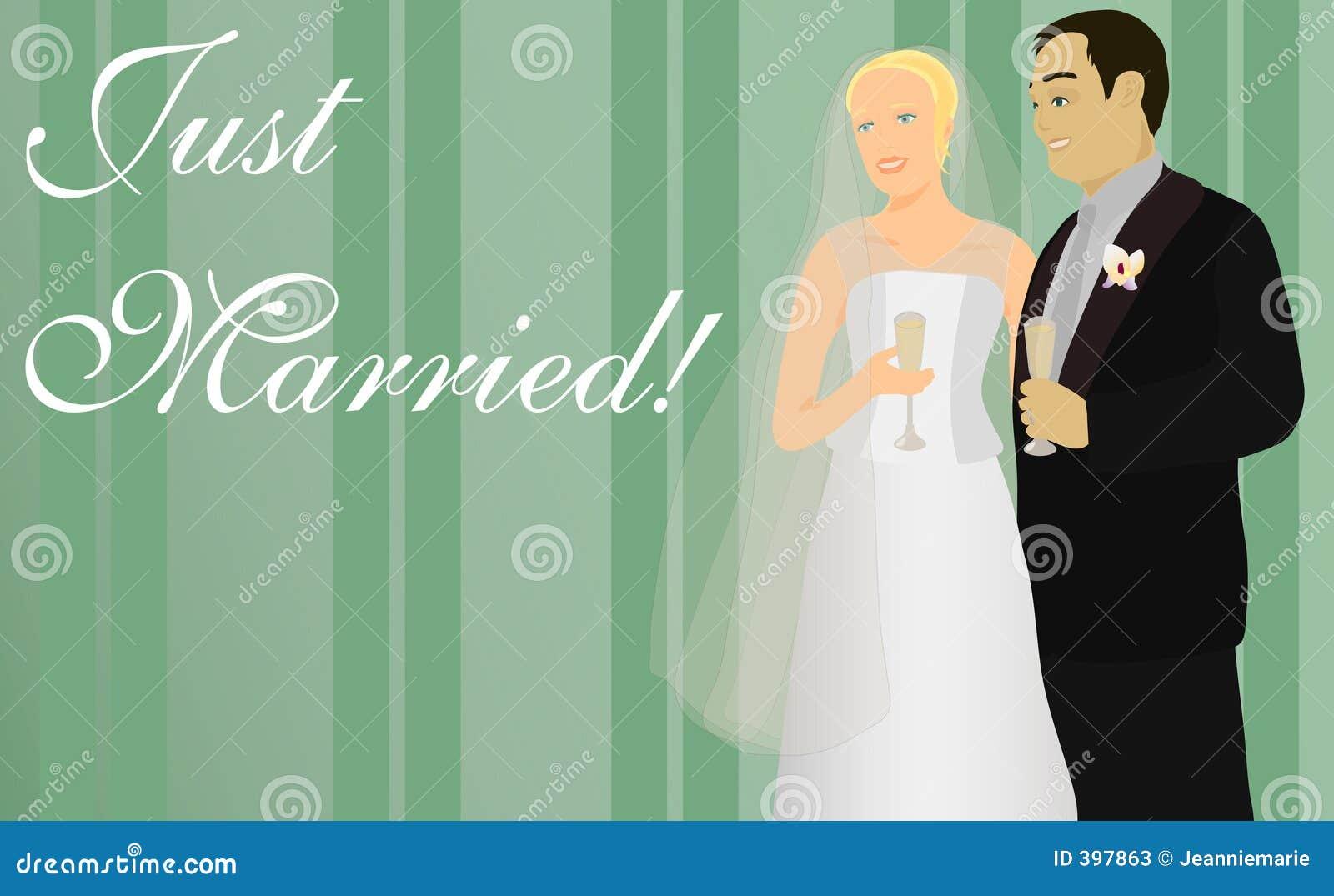 Juste marié !