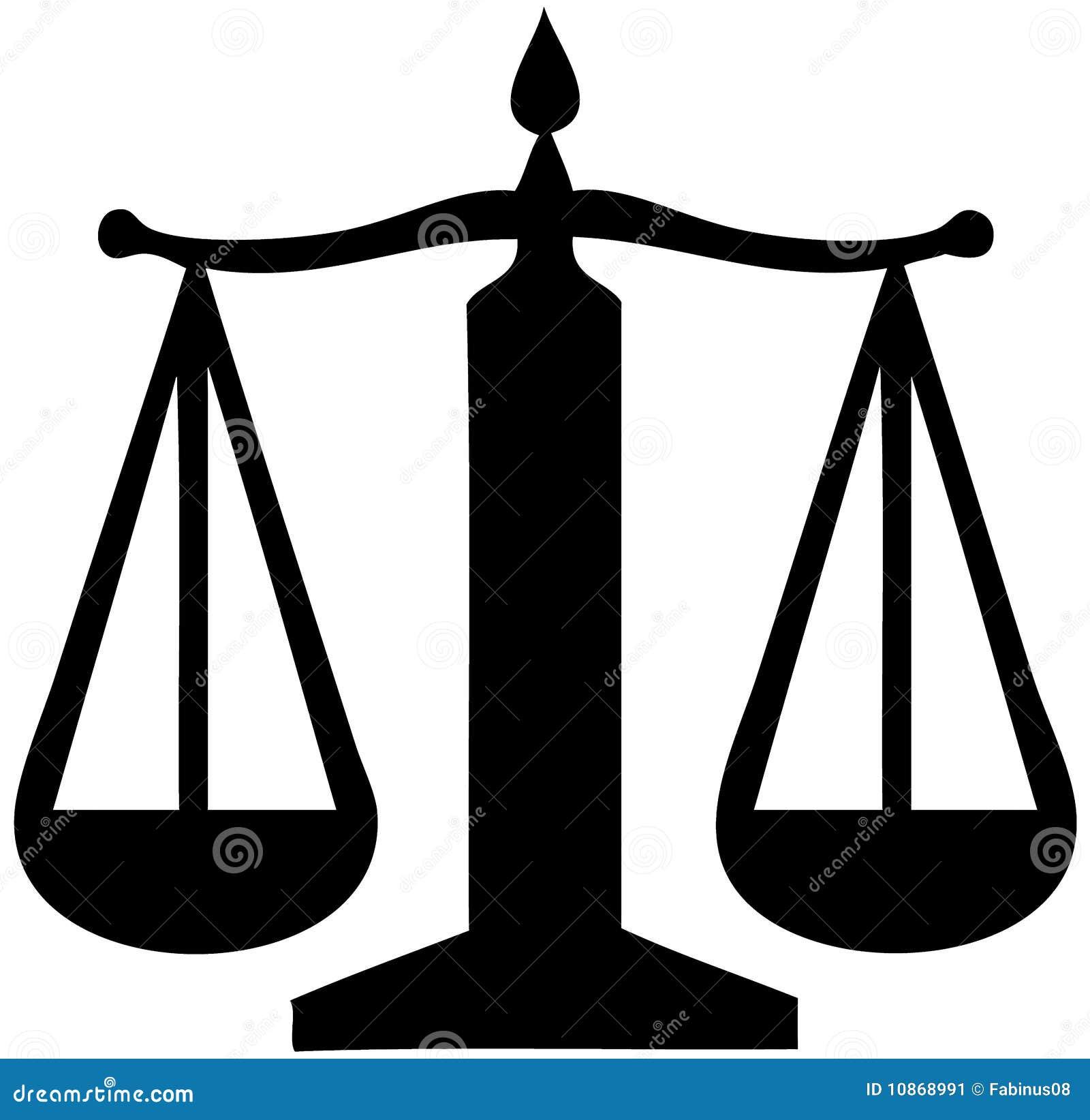 Justice Balance Symbol Stock Illustration  Illustration Of
